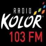 Logo da emissora Radio Kolor 103 FM
