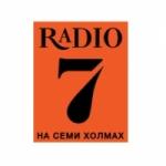 Logo da emissora Radio 7 104.7 FM