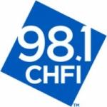 Logo da emissora Radio All Christmas Music on CHFI 98.1 FM