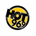 Logo da emissora Radio KEZE 96.9 FM