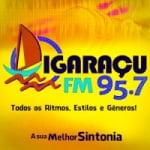 Logo da emissora Rádio Igaraçu 95.7 FM