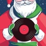 Logo da emissora SomaFM Christmas Lounge