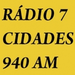 Logo da emissora Rádio AM 7 Cidades 940