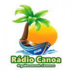 Logo da emissora Rádio Canoa FM