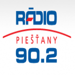 Logo da emissora Rádio Piestany 90.2 FM