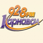 Logo da emissora Radio Karnaval 92.8 FM