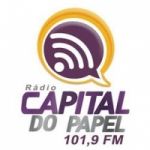 Logo da emissora Rádio Capital do Papel 101.9 FM