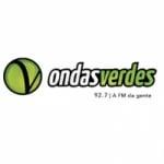 Logo da emissora Rádio Ondas Verdes 92.7 FM