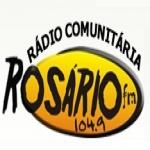 Logo da emissora Rádio Rosário 104.9 FM