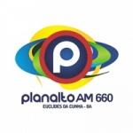 Logo da emissora Rádio Planalto 660 AM