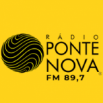 Logo da emissora Rádio Ponte Nova 89.7 FM