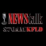 Logo da emissora Radio KFLD 870 AM