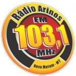 Logo da emissora Rádio Arinos 103.1 FM