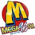 Logo da emissora Rádio Mega 96 FM