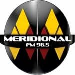 Logo da emissora Rádio Meridional 96.5 FM