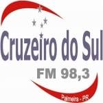 Logo da emissora Rádio Cruzeiro do Sul 98.3 FM