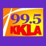 Logo da emissora Radio KKLA 99.5 FM
