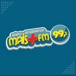 Logo da emissora Rádio Alternativa Mais FM Rio 99.1