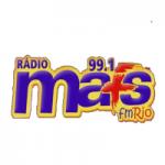 Logo da emissora Rádio Mais FM Rio 99.1