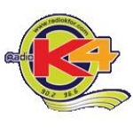 Logo da emissora Radio K4 96.6 FM