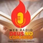 Logo da emissora Rádio Deus No Comando