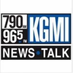 Logo da emissora Radio KGMI 790 AM