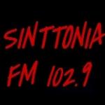 Logo da emissora Rádio Sinttonia 102.9 FM
