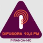 Logo da emissora Rádio Difusora de Piranga 90.5 FM