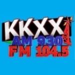 Logo da emissora Radio KKXX 930 AM 104.5 FM