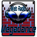 Logo da emissora Rádio Mega Dance