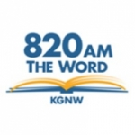 Logo da emissora Radio KGNW 820 AM