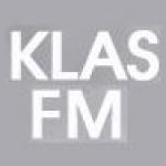 Logo da emissora KLAS 89.7 FM