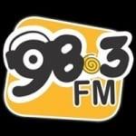 Logo da emissora Rádio Vila Nova 98.3 FM