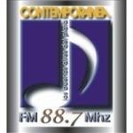 Logo da emissora Radio Contemporanea 88.7 FM
