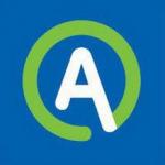 Logo da emissora Radio Aktual 104.8 FM