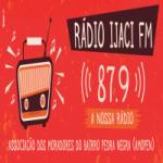 Logo da emissora Rádio Ijaci 87.9 FM