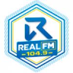 Logo da emissora Rádio Real 104.9 FM