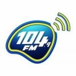 Logo da emissora Rádio 104 FM Live 104.9 FM