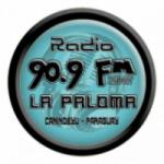 Logo da emissora Radio La Paloma 90.9 FM