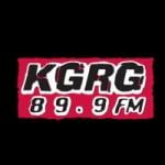 Logo da emissora KGRG 89.9 FM