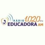 Logo da emissora Rádio Educadora do Cariri 1020 AM