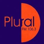 Logo da emissora Radio Plural 106.3 FM