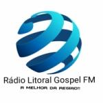 Logo da emissora Rádio Litoral Gospel FM