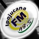 Logo da emissora Rádio Ipojucana 98.5 FM