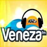 Logo da emissora Rádio Veneza 102.3 FM
