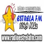 Logo da emissora Rádio Nova Estrela 104.9 FM