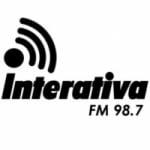 Logo da emissora Rádio Interativa 98.7 FM