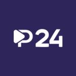 Logo da emissora Rádio Portal 24