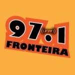 Logo da emissora Rádio Fronteira 97.1 FM