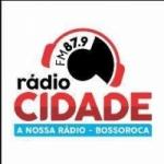 Logo da emissora Radio Cidade 87.9 FM